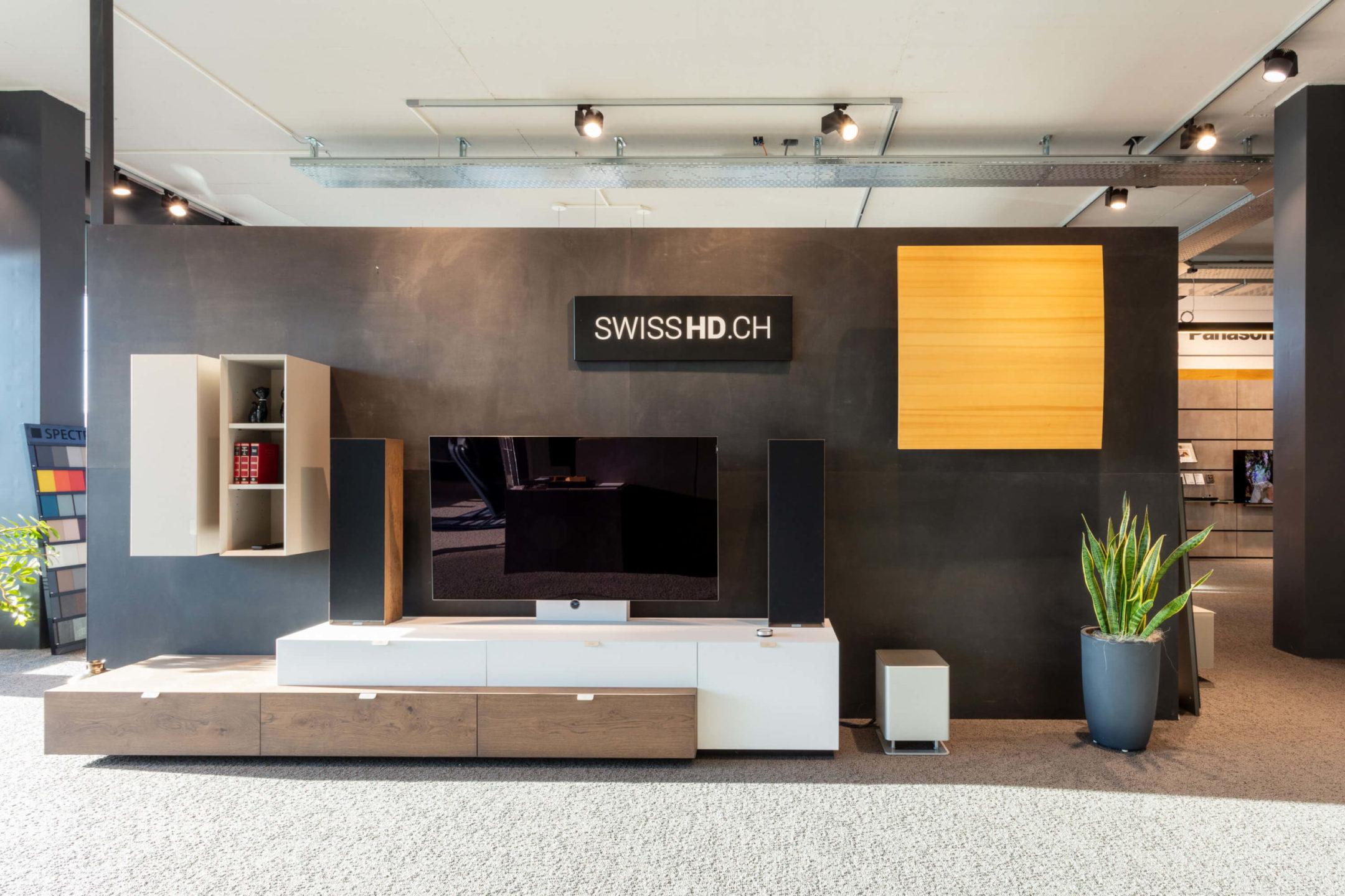 Showroom Titel SwissHD Soundboard