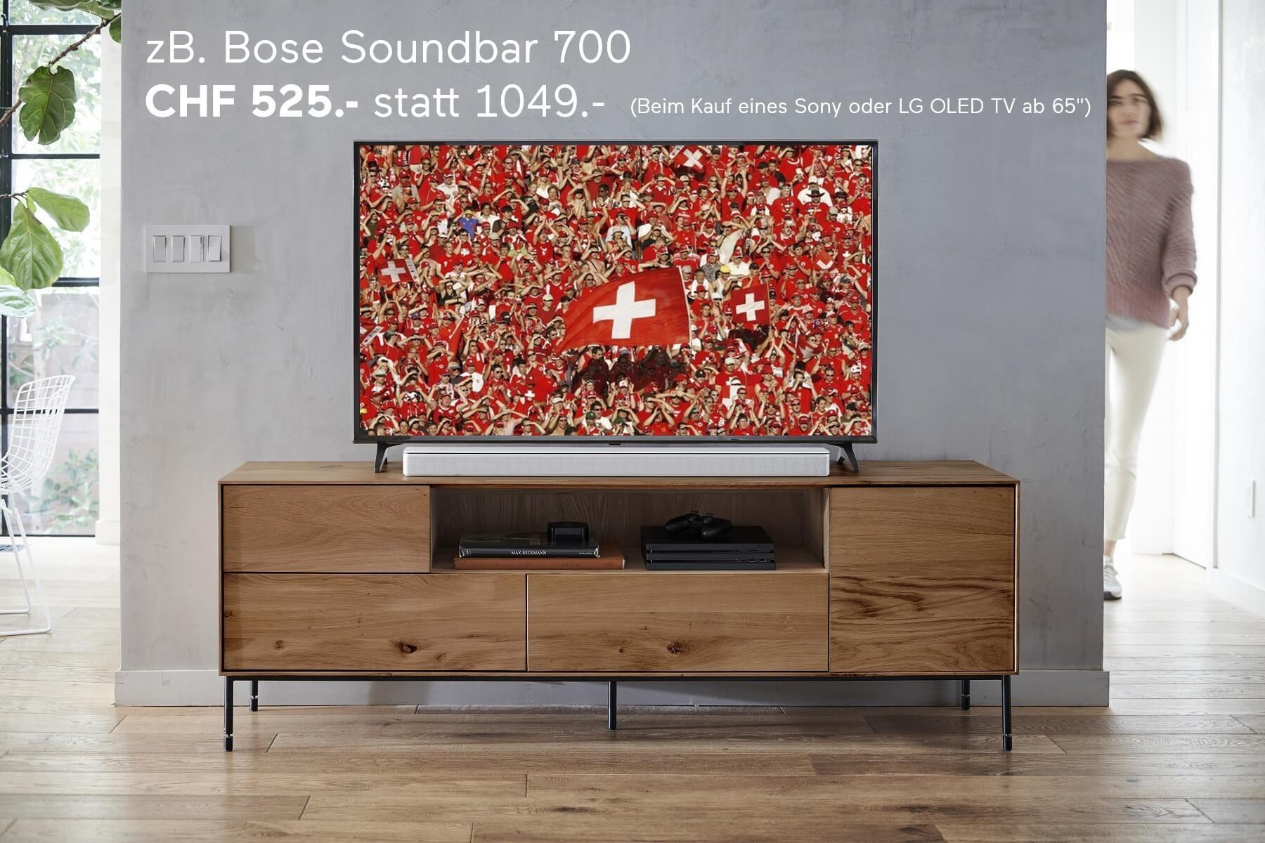 Bose Soundbar 700 WM Aktion